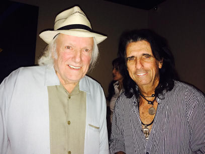 Dick and Alice Cooper